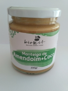 MANTEIGA DE AMENDOIM + COCO BIOMIT 230G