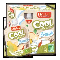Iogurte pêra maçã Bio 85g Cool Fruits