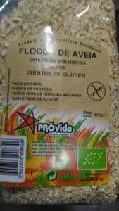 FLOCOS DE AVEIA PEQUENOS S/GLÚTEN PROVIDA