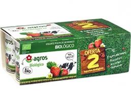 Iogurte Biologico Polpa Morango 6X125g