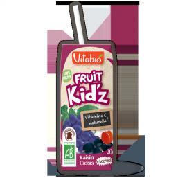 Sumo uva preta groselha acerola Bio 20cl VitaBio Kid'z