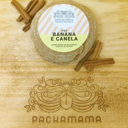 PÃO BANANA E CANELA S/GLÚTEN PACHAMAMA