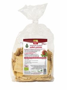 Mini crackers de espelta sabor pizza