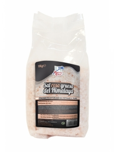 Sal rosa grosso dos Himalaias 1kg