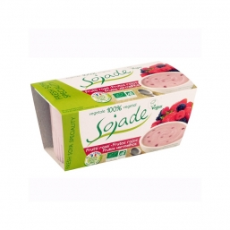SOBREMESA SOJA FRUTOS DO BOSQUE BIO 2X100G SOJADE