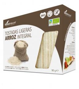 TOSTAS ARROZ INTEGRAL BIO 25X3,6G SORIA